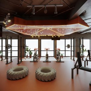 6design-thiet-ke-phong-gym-the-fox-fitness-dau-tien-tai-viet-nam