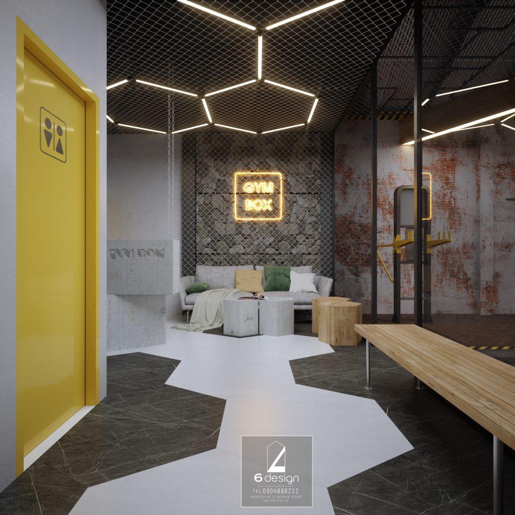 Thiết kế phòng gym 200m2 tối ưu chi phí và tăng doanh thu ..