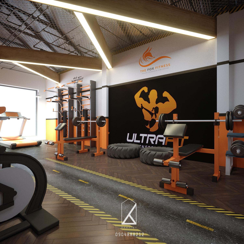 Cùng 6Design setup phòng Gym 5 sao