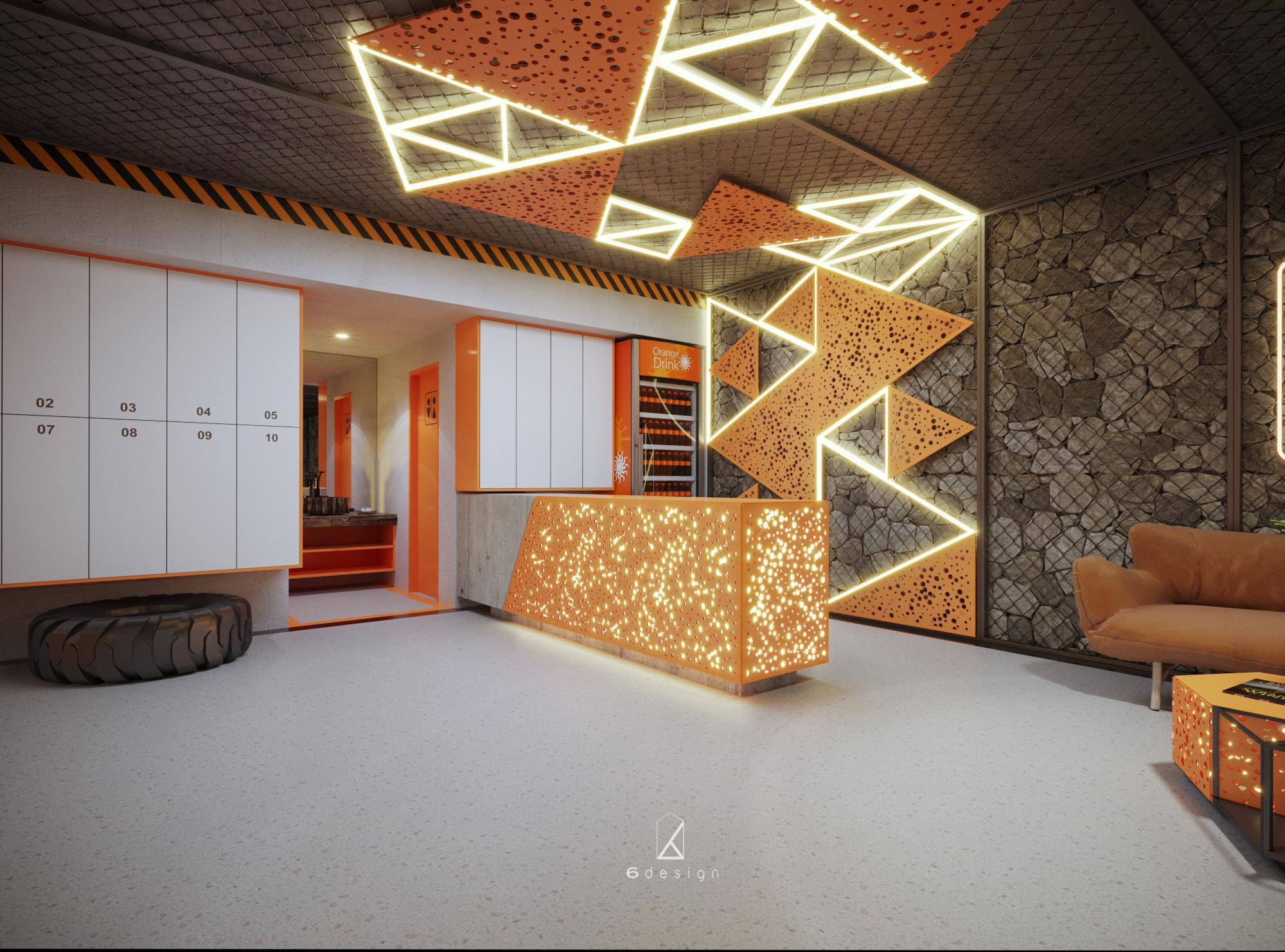 Đổi mới phòng Gym với thiết kế ngoại thất phòng gym độc đáo