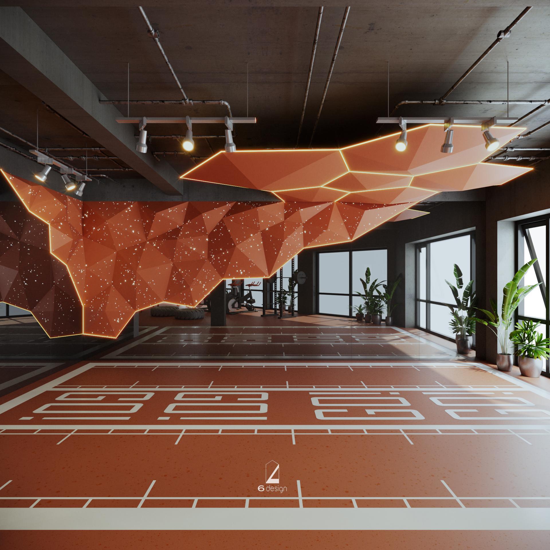 quy trình khảo sát thiết kế phòng gym của 6 Design
